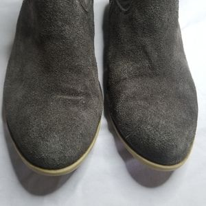 Lucky Brand Shoes - Lucky Brand Gray Suede Betwixt ankle booties 10